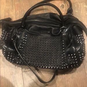 Burberry studded purse